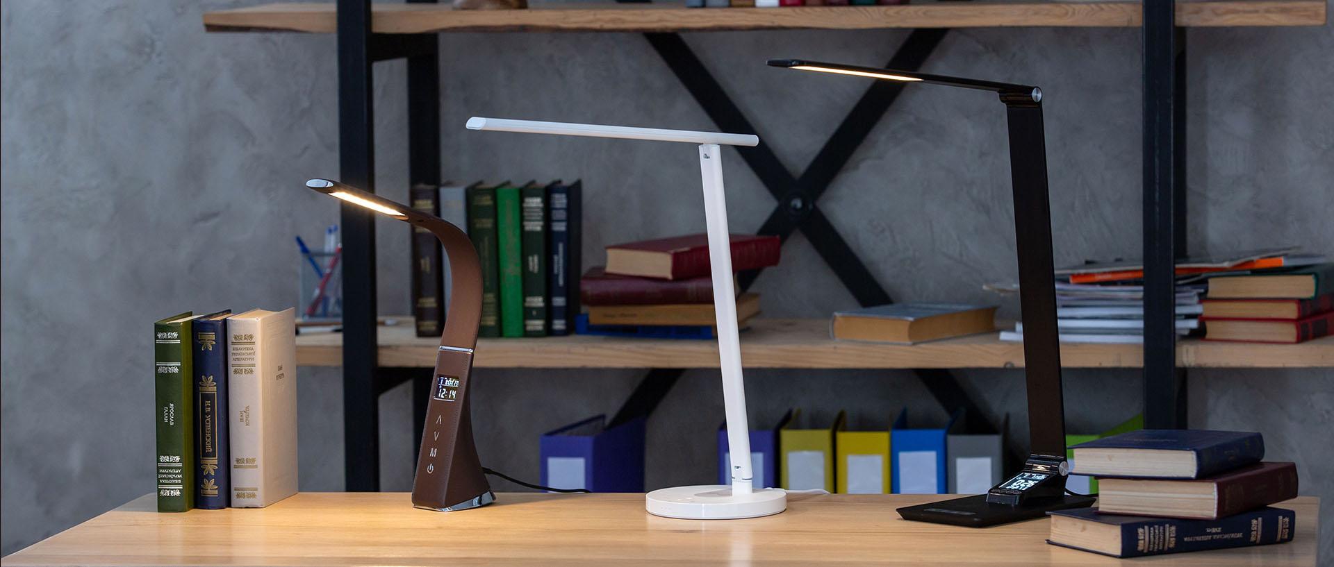 Сенсорная светодиодная настольная лампа