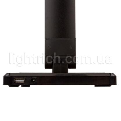 Настольная лампа Lightrich FE-TL002 c беспроводной зарядкой, Black