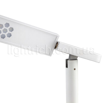 Настільна лампа Lightrich S3 з бездротовою зарядкою, White