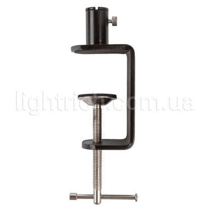 Настільна лампа на струбцині Lightrich C201-S, Black