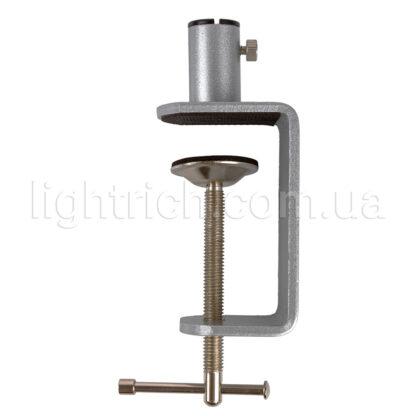 Настольная лампа на струбцине Lightrich F201-Q, Silver