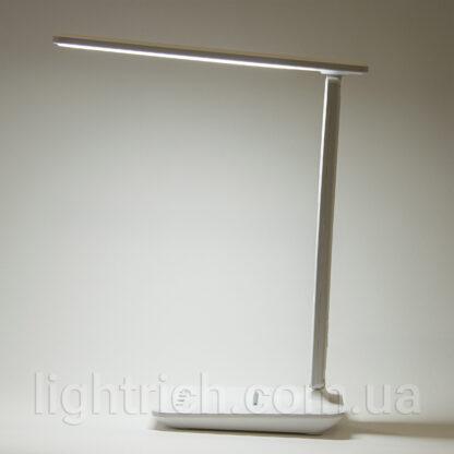 Настільна лампа Lightrich TC26 з акумулятором, White